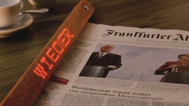 Newspaper holder tech