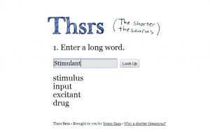 Thesauraus