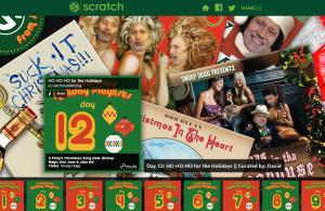 Scratch Marketing Christmas