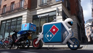 Domino's parked