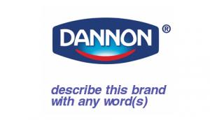 Danone Brand Tag