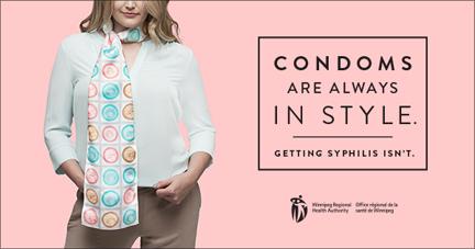 Condom campaign online ad