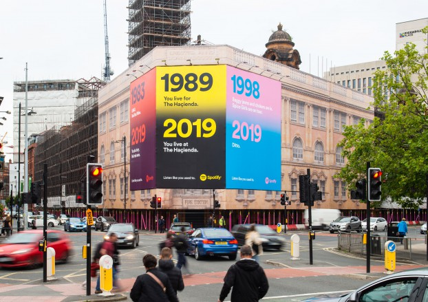 Spotify Manchester Station Gateway 9th Sep 2019 Pro Shot 1